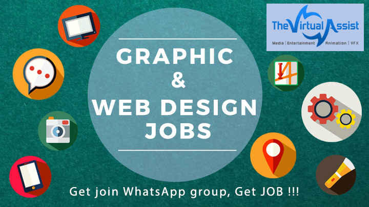 graphic and web design jobs alerts on whatsapp jobs group