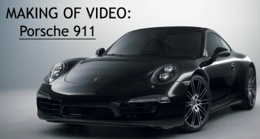 making of video porsche black