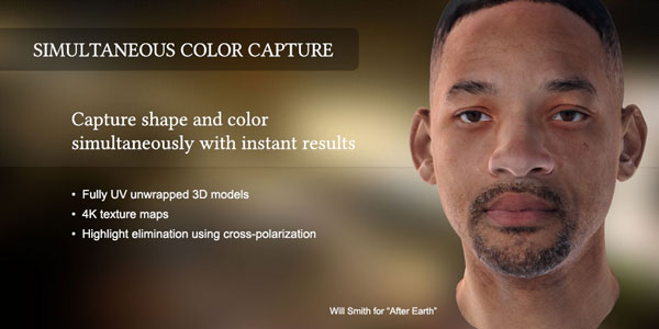 Will Smith 3D Scanner and Digitizers