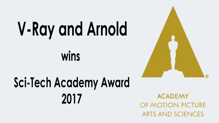 v ray and arnold wins academy award