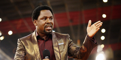 Tag Archives: Prophet TB Joshua