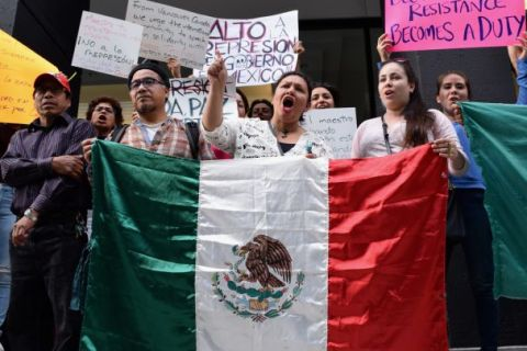 AGUILAR_Rally for Oaxaca at VAG Sunday June 26_Pic by FLUX PHOTO from VMC article