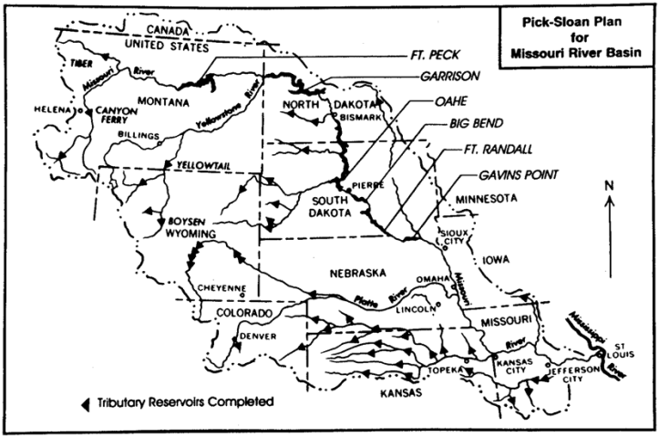 Pick-Sloan Dams