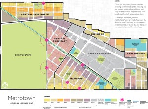 WADDINGTON - Metrotown General Land Use Map Large