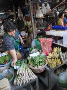 Scenes at the Maeklong Railway Market (Talad Rom Hub)