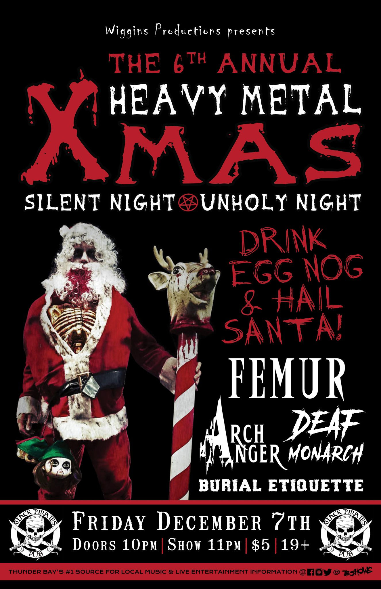 On Heavy Metal The 6th Annual Heavy Metal Xmas