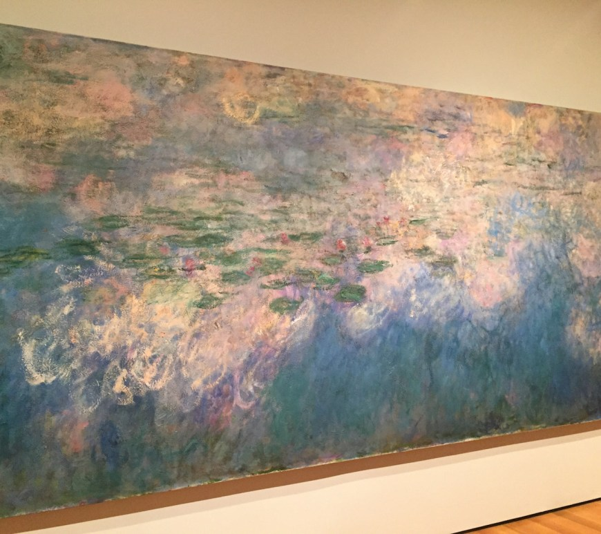 MOMA Monet's Waterlilies