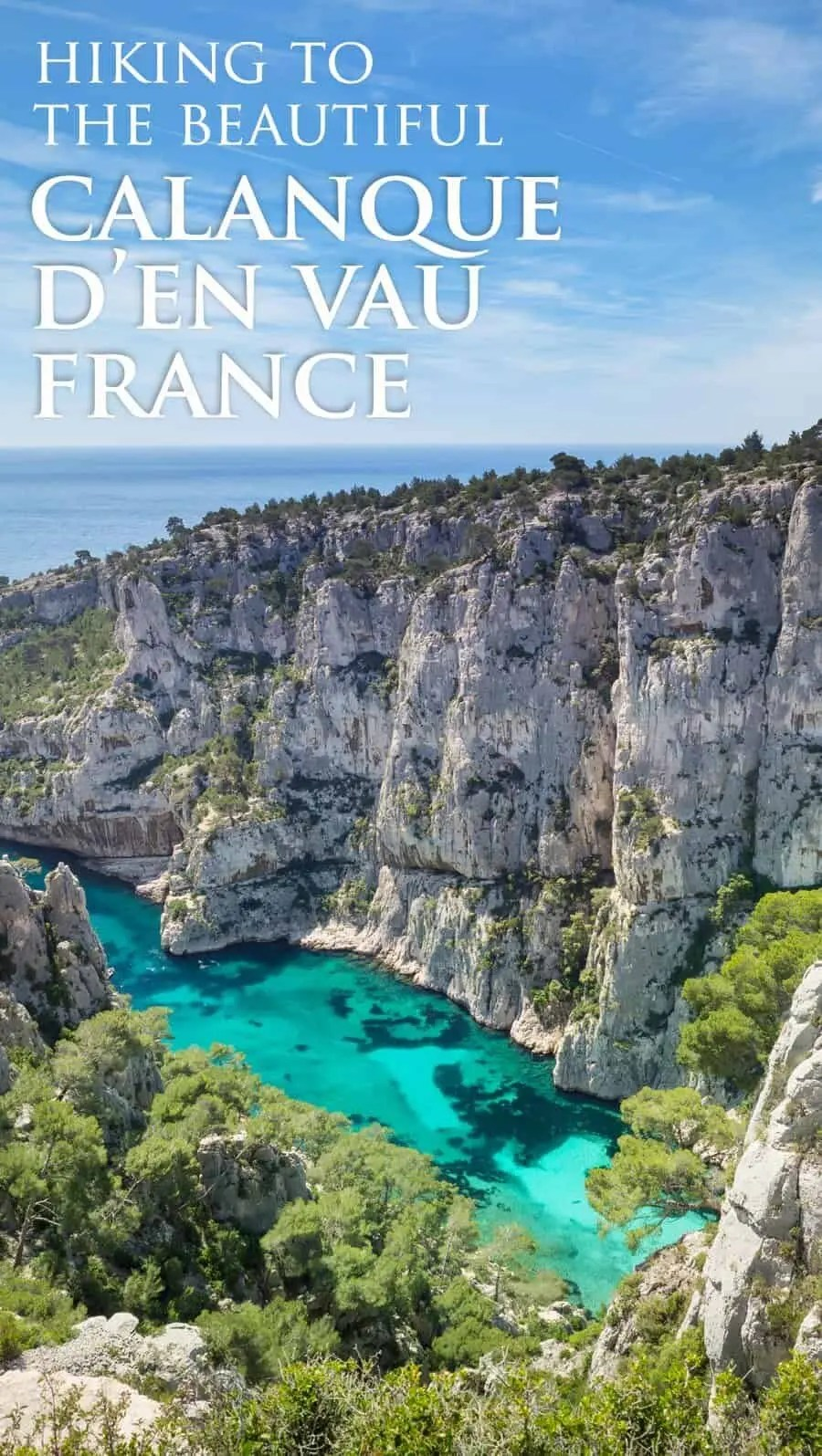 Office Tourisme Marseille Calanque Hiking To Calanque D En Vau From Cassis France The Wandering