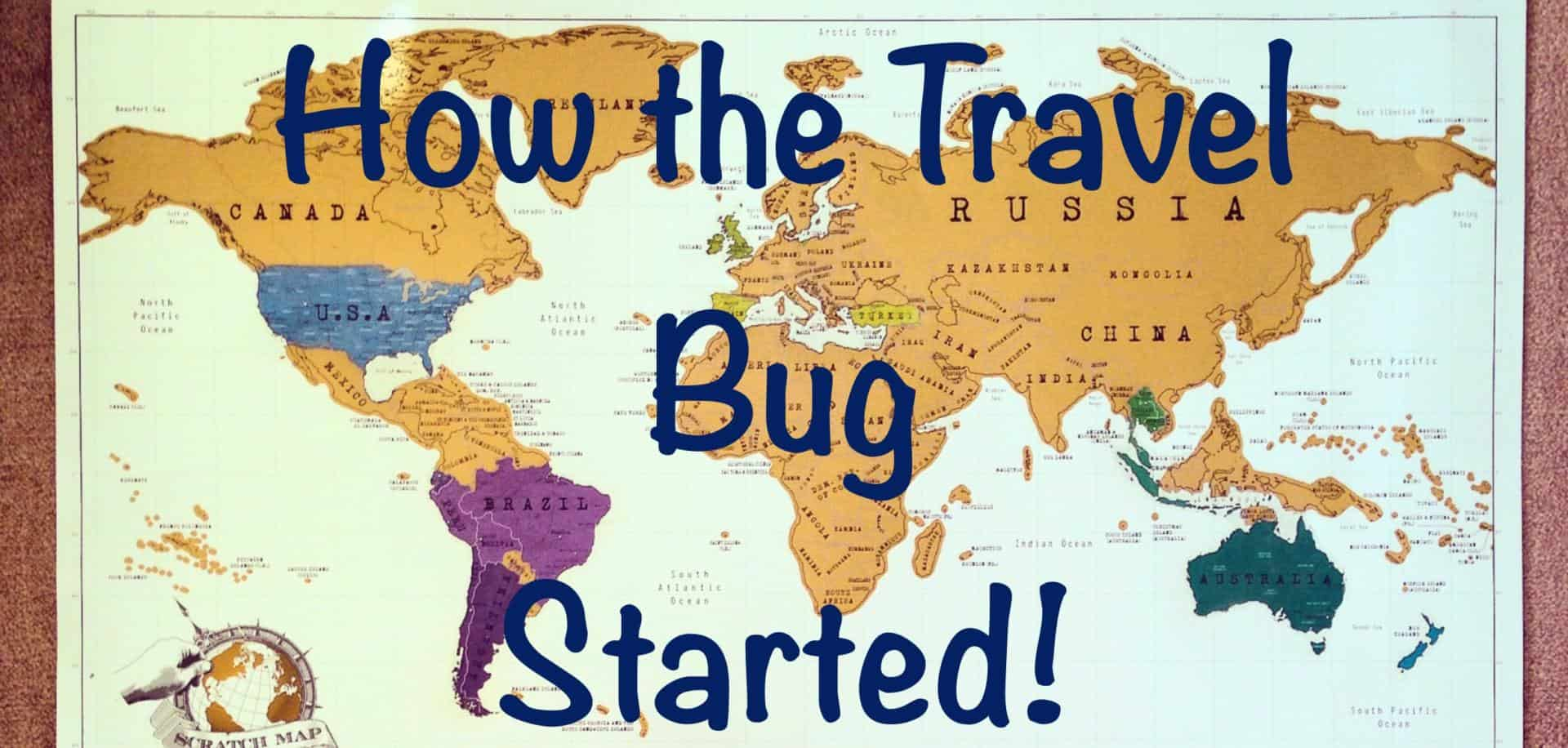 Travel Blog With Map Travel Bug Map