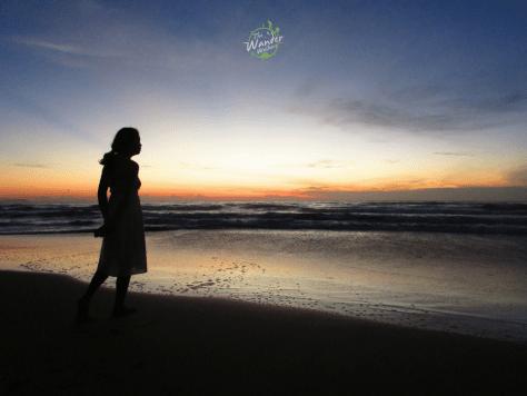 Sunrise in Long Son Beach Resort, Mui Ne