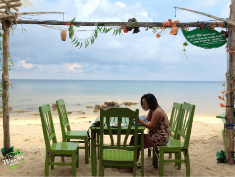 Lien Hiep Thanh Resort beach front. Phu Quoc Itinerary