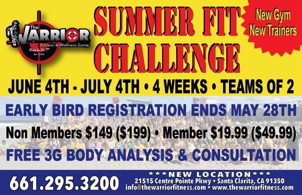 Warrior Fitness Center Santa Clarita, California The Warrior Fitness