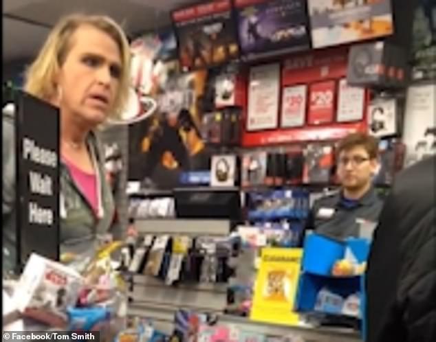 Man Who Quotidentifiesquot As Quotwomanquot Blasts Polite Store Clerk