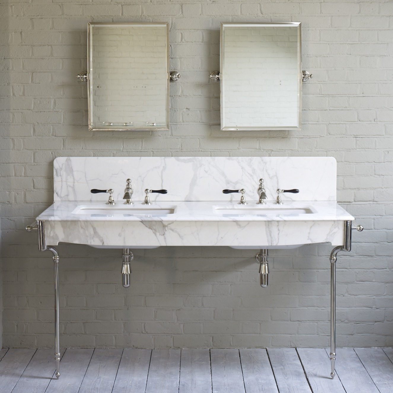 Marble Basin Double Marble Basin On A Frame