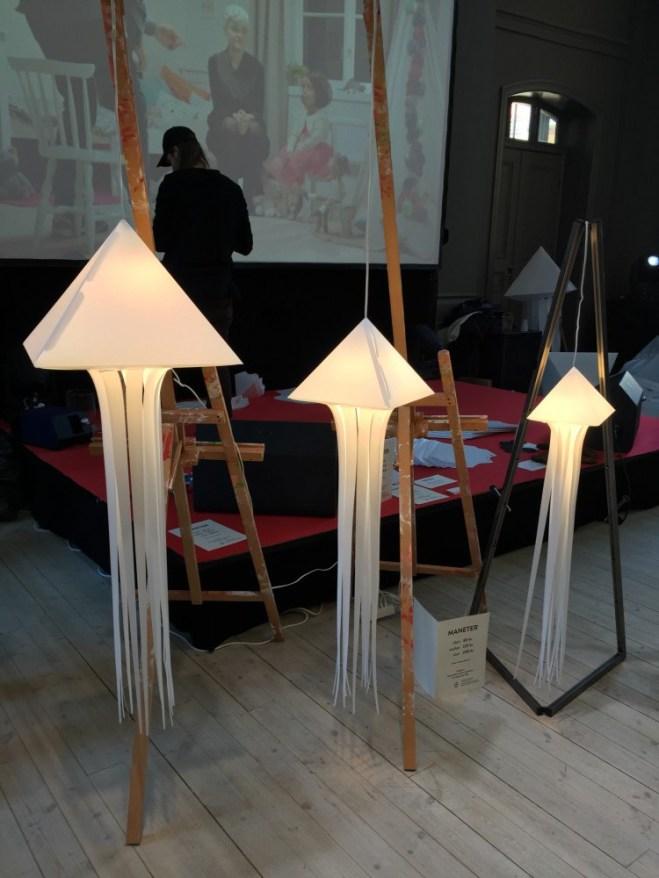 Fantastisk utsmyckning gjord av Dan Henriksson och Mikel Nilsson fanns överallt under Fashion UP!
