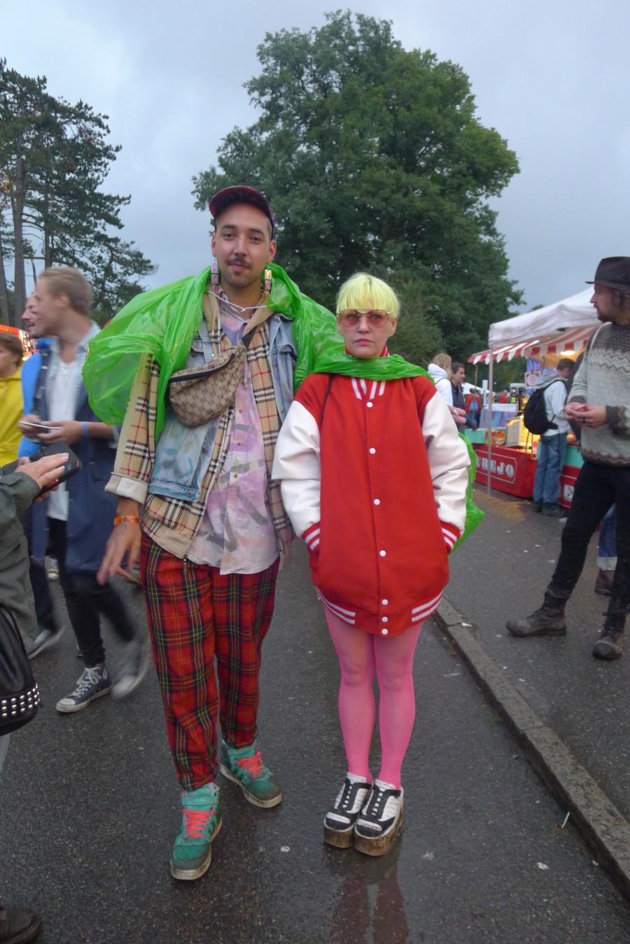Rufus och Grebnellaw var på plats och representerade butiken Wos som hade en pop up under festivalen.