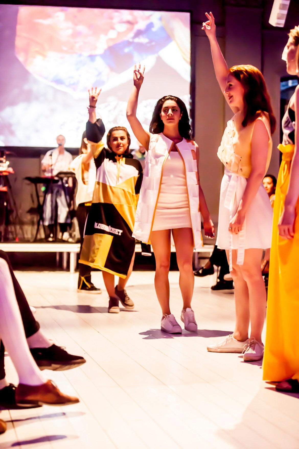 Final show under Fashion UP! Fotograf Jesper Dickell