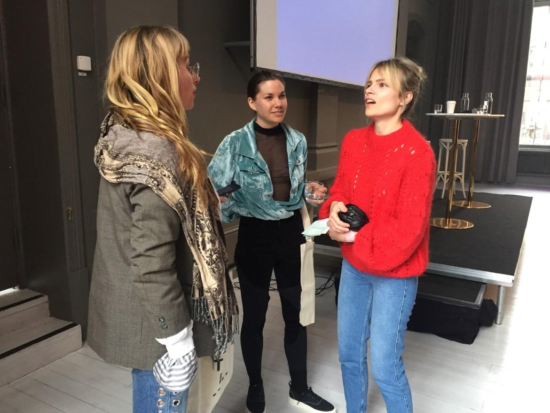 Maria Wahlberg, Ida Klamborn & Lina Magassa under Fashion UP!