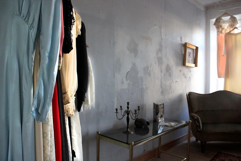 Vintagerummet under lanseringsfesten Fancy Friday