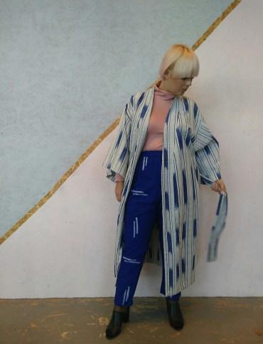 Kimonojacka & byxor från Victoria Henry