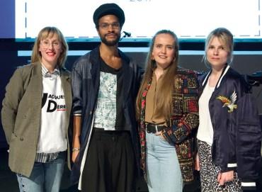 Juryn: Maria Decida Wahlberg, David Njie, Erica Blomberg, Lina Magassa