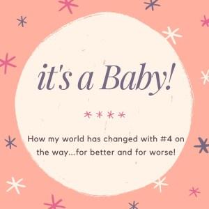 it's a Baby!