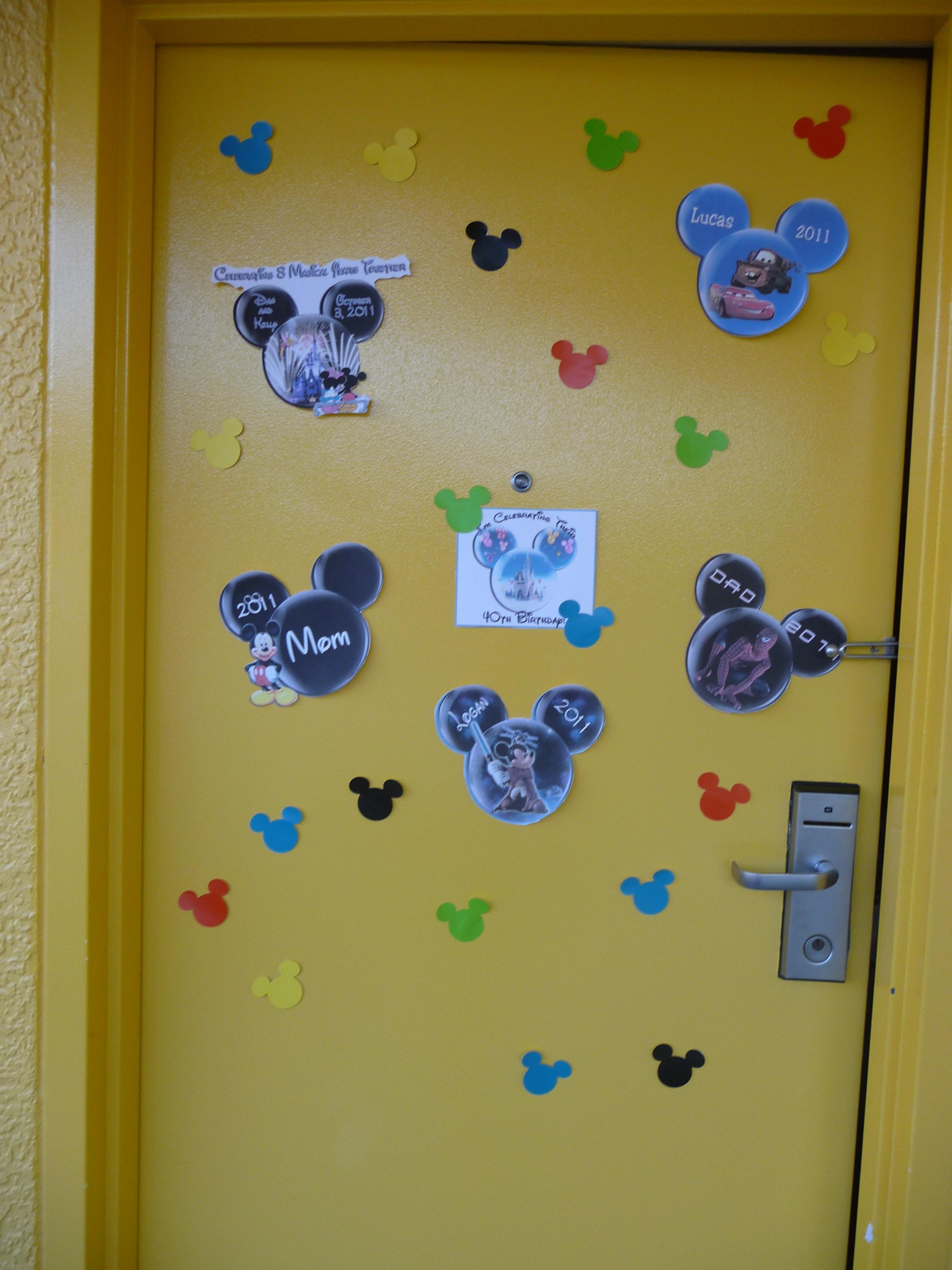Disney Room & Door Decorations
