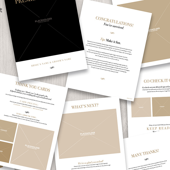 Templates For Wedding Photographers (Bundle!) - The Wedding School
