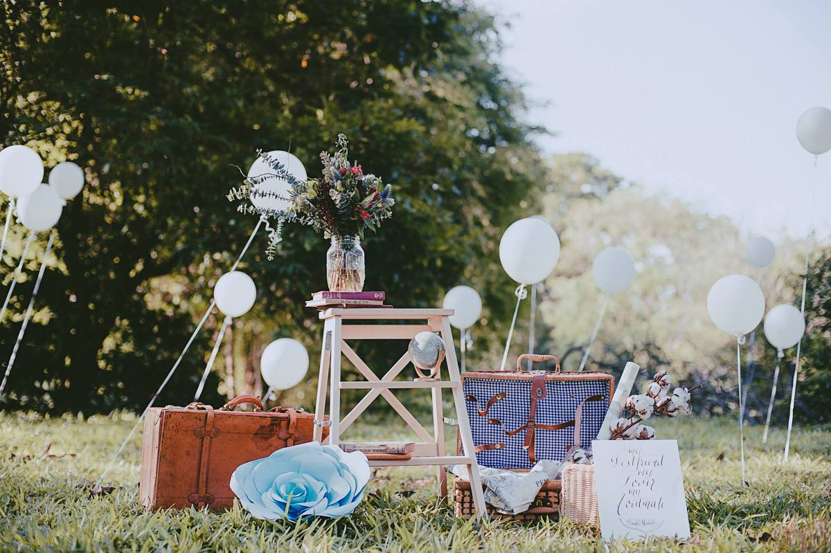 Top 10 places for wedding decorations and props in singapore for American wedding decoration