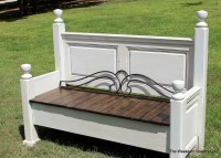 Headboard and Footboard into Bench | The Weekend Country Girl