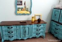 Turquoise French Provincial Furniture | The Weekend ...