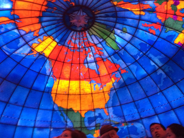 6 Hidden Gems of Boston: the Mapparium | TheWeekendJetsetter.com