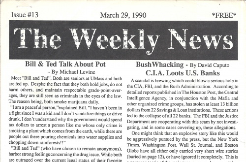 The Weekly News Issue 13