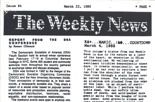 The Weekly News Issue 4