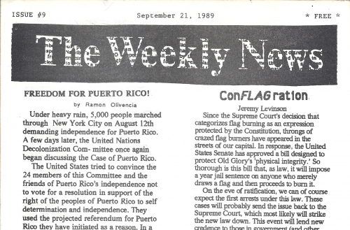 The Weekly News Issue 9