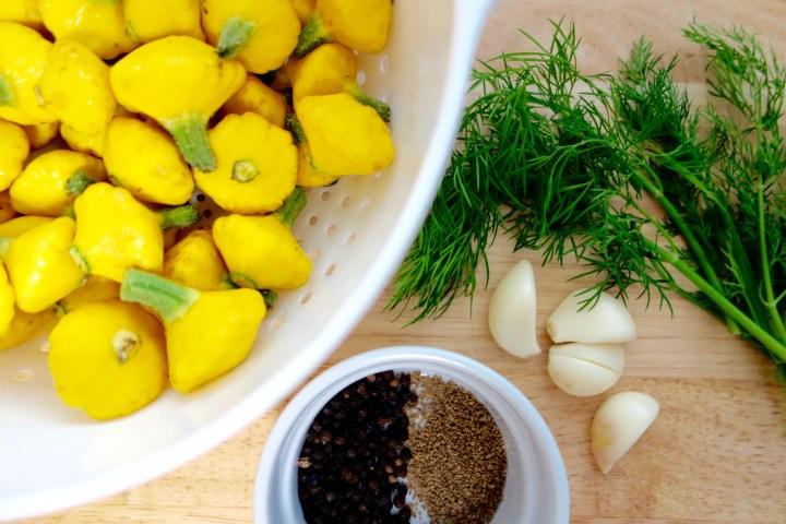 pickled-pattypan-squash