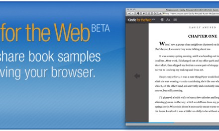 Amazon puts eBooks online with Kindle on the web BETA