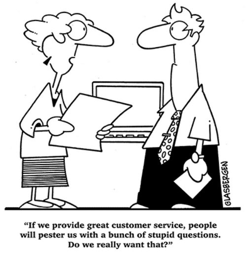 Good customer service is a selling point that can distinguish your services