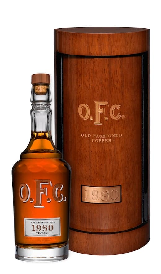 Buffalo Trace Drops New Rare Collection of O.F.C. Bourbons In Crystal Bottles