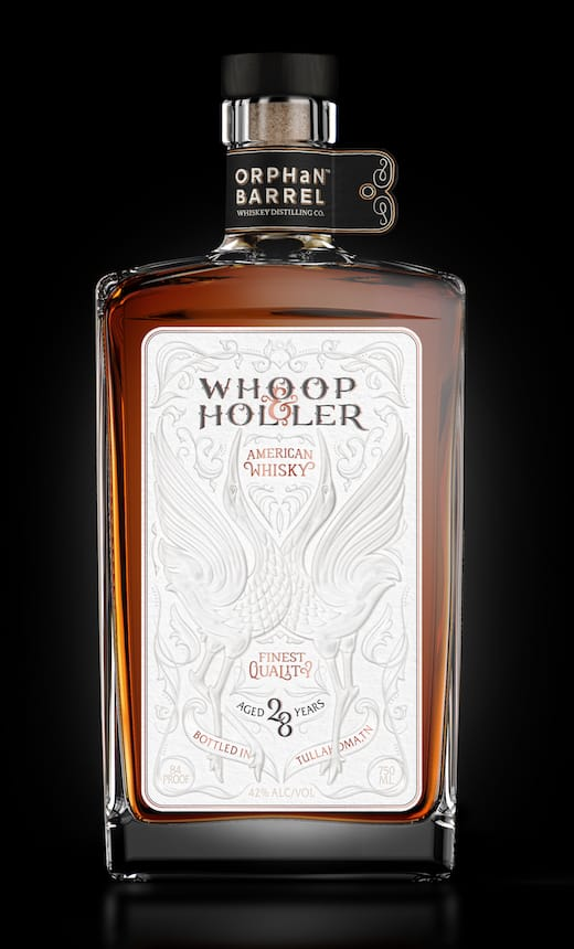 Diageo Drops 28-Year-Old Whoop & Holler Into Orphan Barrel Series