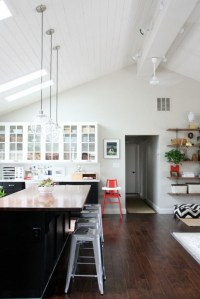 Vaulted Ceilings - White or Wood ...