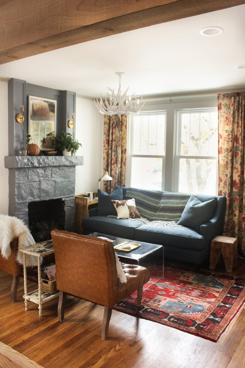Medium Of Cottage Living Room
