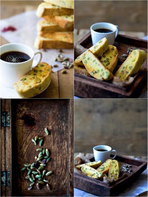Saffron & Pistachio Biscotti 2