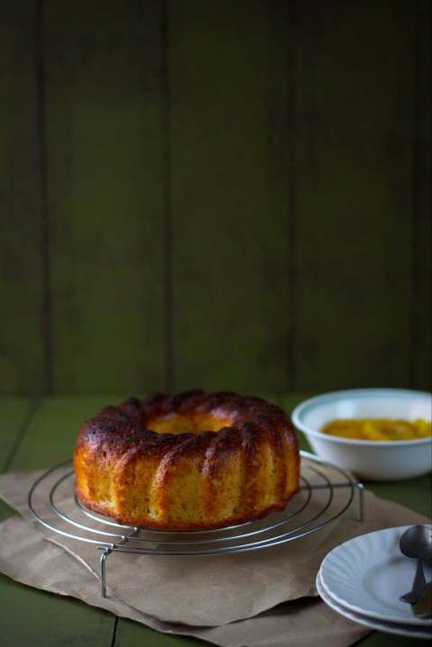 Lemon Yogurt Cake With Candied Lemon
