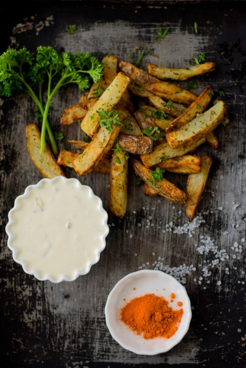 Fish & Chips With Tartar Sauce...The Airfryer Way - The White Ramekins