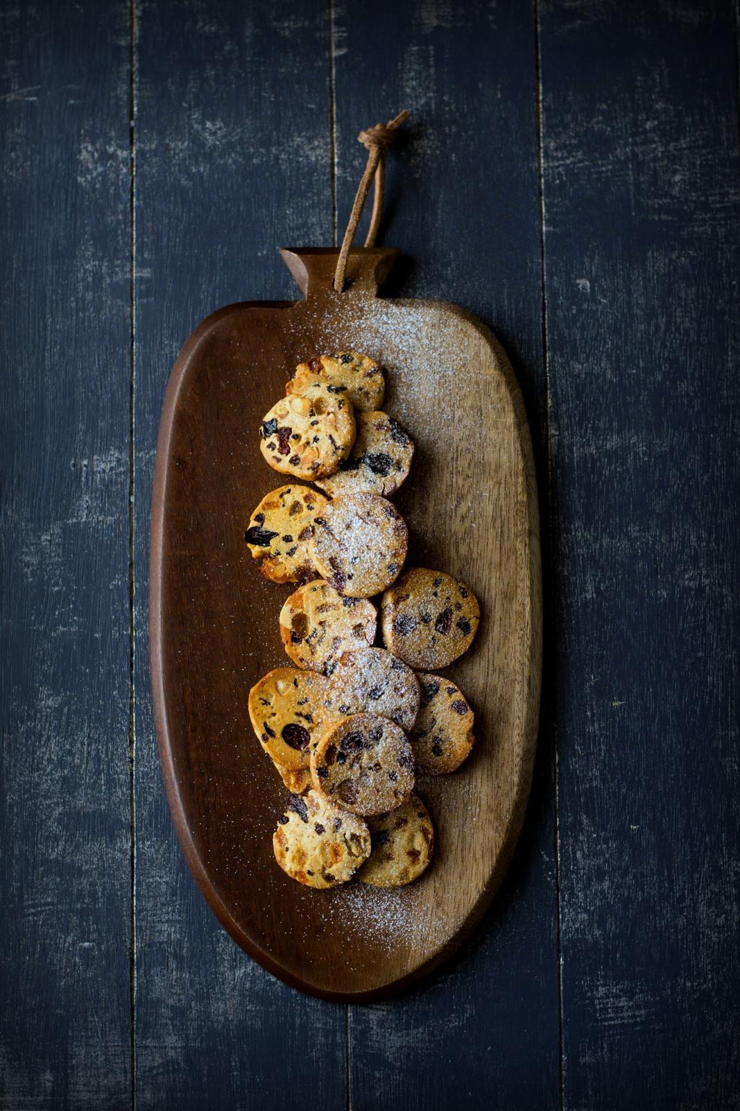 Fruitcake Cookies Made With Cake Mix