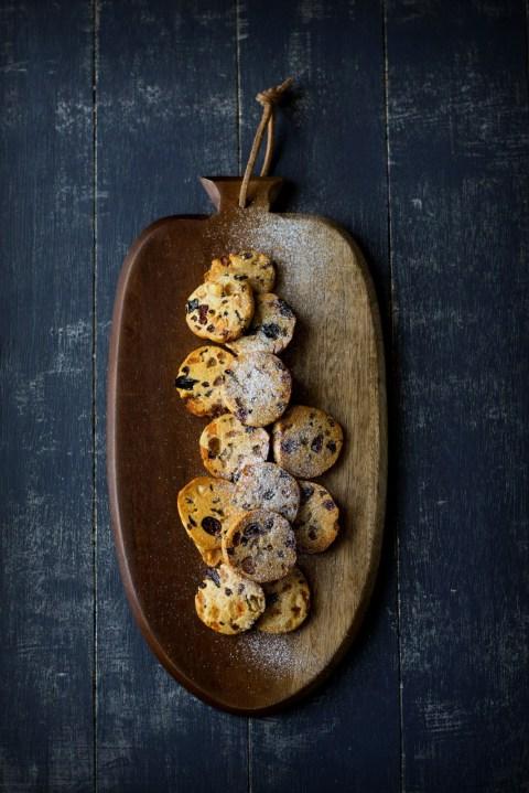 Leftover Mincemeat Fruitcake Cookies