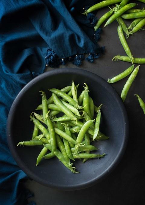 green pea & mint croquettes