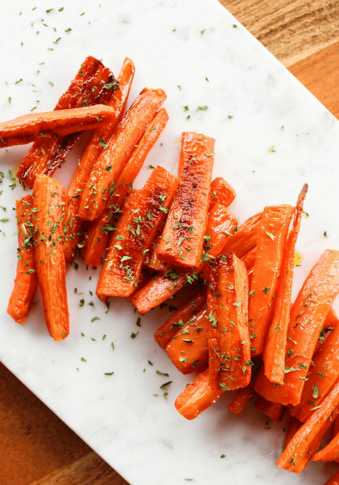 Roasted Parsley Carrots by The Whole Cook VERTICAL FEATURE(1)