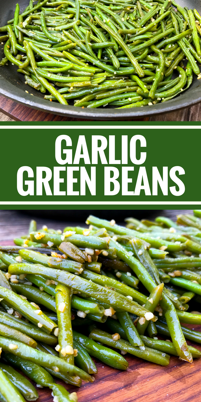 Garlic Green Beans - The Whole Cook